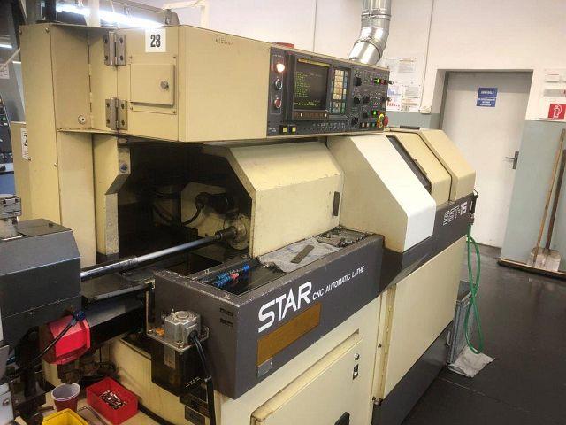 used Lathes Turning Automatic Lathe - swiss lathe STAR SST-16