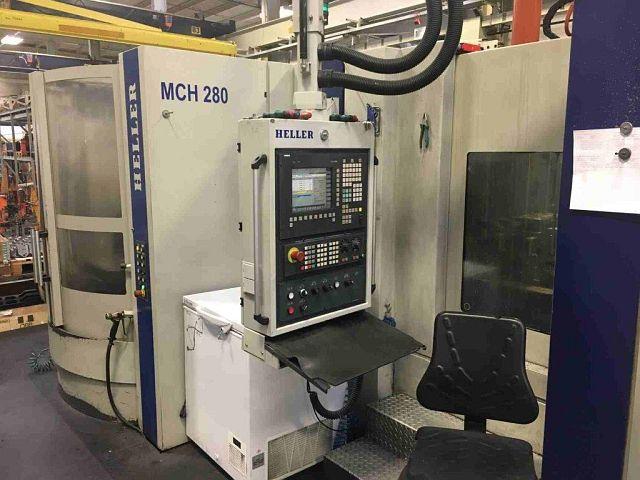 Aléseuses / Centres d'usinage / Perceuses d'occasion Centre d'usinage horizontal HELLER MC H280