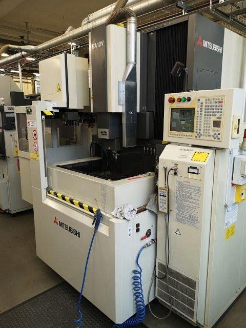 used Other Metal Processing Cavity Sinking EDM - Machine MITSUBISHI EA 12 V
