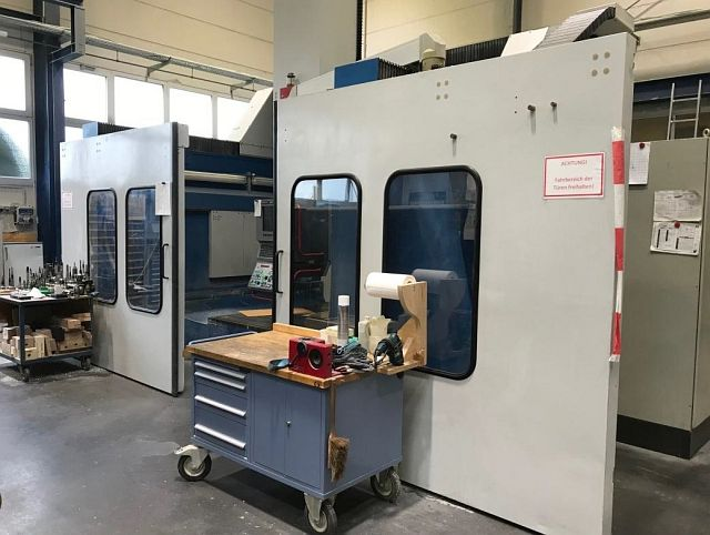 used Milling machines Planer-Type Milling M/C - Double Column FOOKE