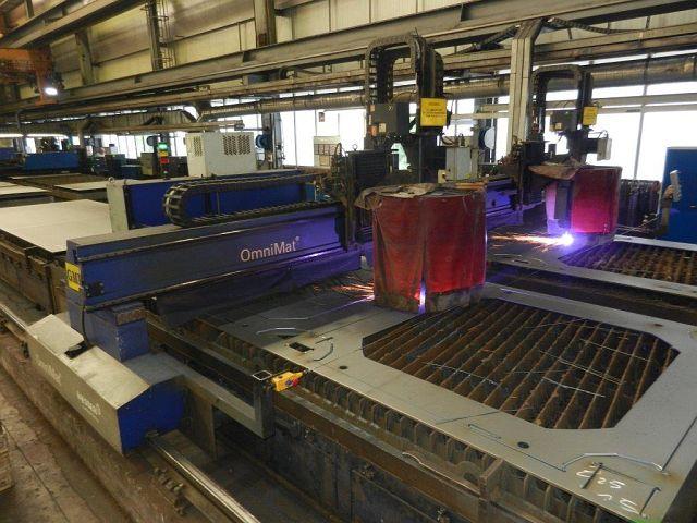 used Plasma Cutting Device MESSER CUTTING + WEL OMNIMAT L 7500
