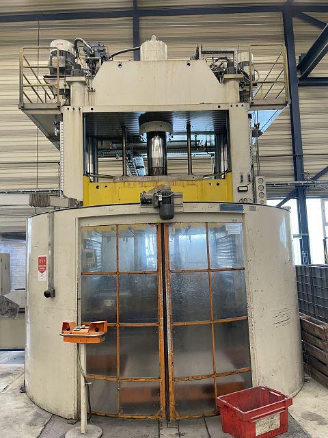gebrauchte Pressen und Bördelmaschinen 4-Säulenpresse - Hydraulisch OEVERMANN + NIEDRING VP-400
