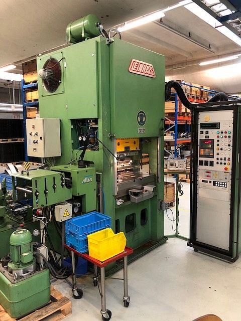 gebrauchte Pressen und Bördelmaschinen Doppelständer - Kurbelpresse BRUDERER LEINHAAS DWP AR09-800 KE3