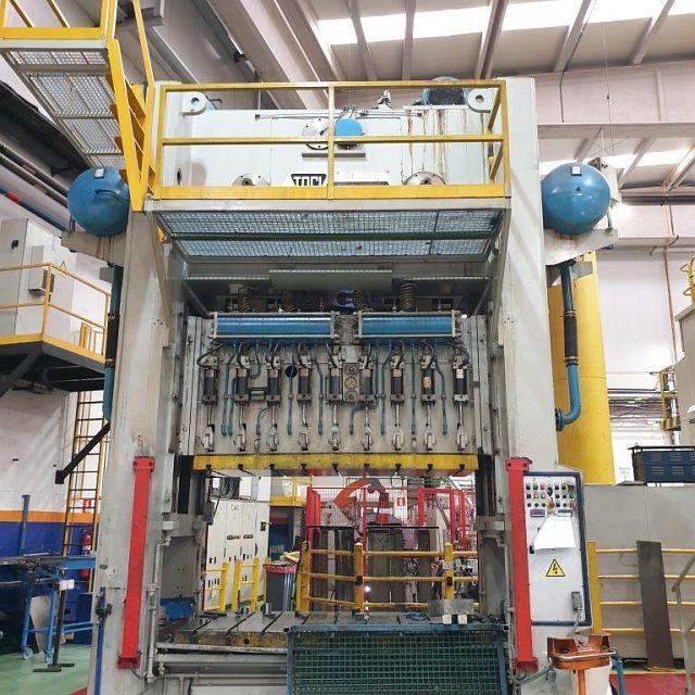 gebrauchte Pressen und Bördelmaschinen Doppelständer - Kurbelpresse TACI ARRASATE SE2-300-2250-1200