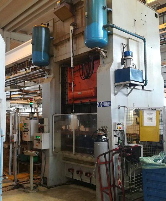 used Presses Crank Press - Double Column MANZONI 2MR 160