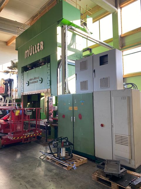 used Presses Deep Drawing Press - Hydraulic MÜLLER BZE 1000-32.10.1