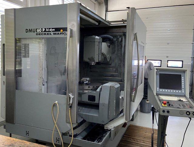 gebrauchte  Bearbeitungszentrum - Universal DMG DMU 60 P HI-DYN