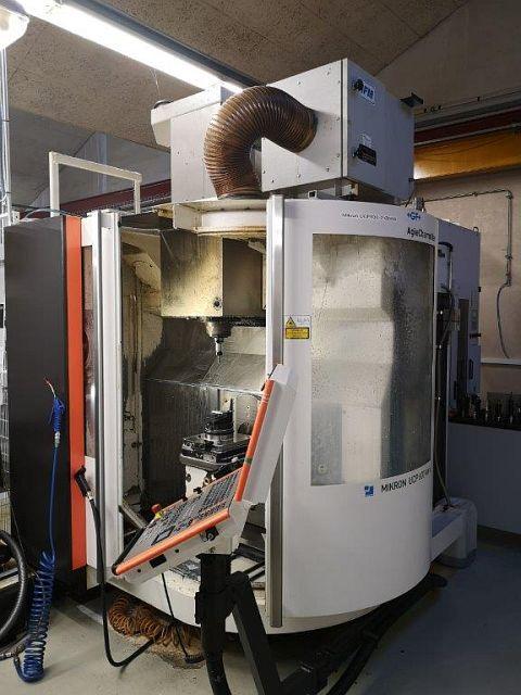 gebrauchte  Bearbeitungszentrum - Universal MIKRON UCP 600 VARIO