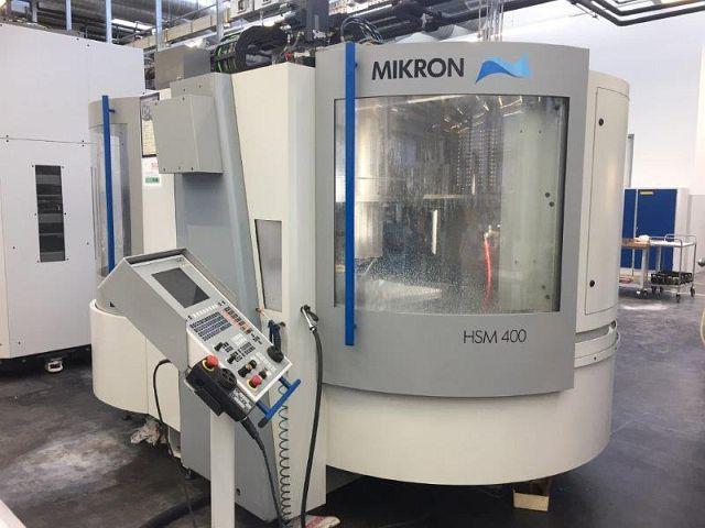 gebrauchte  Bearbeitungszentrum - Vertikal MIKRON HSM 400