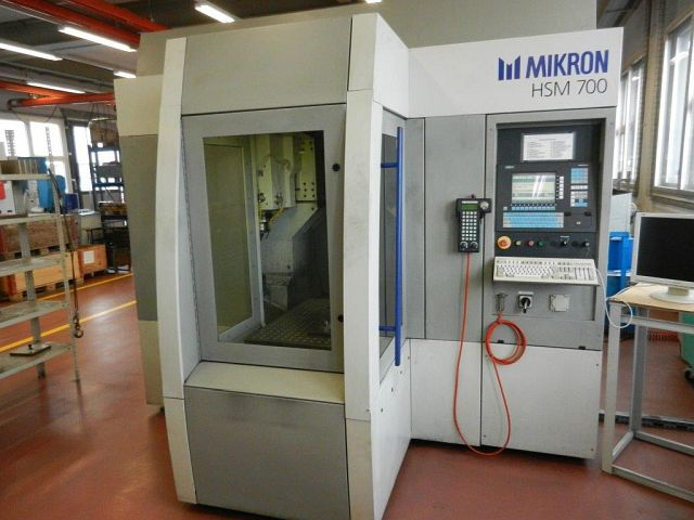 gebrauchte  Bearbeitungszentrum - Vertikal MIKRON HSM 700