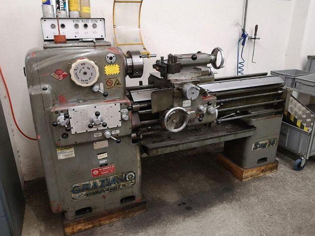 gebrauchte  Leit- und Zugspindeldrehmaschine GRAZIANO SAG 14