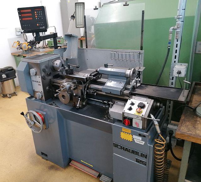 gebrauchte  Leit- und Zugspindeldrehmaschine SCHAUBLIN 125 B
