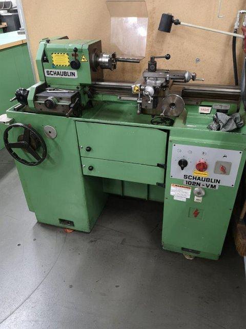 gebrauchte  Leit- und Zugspindeldrehmaschine SCHAUBLIN 102 NVM