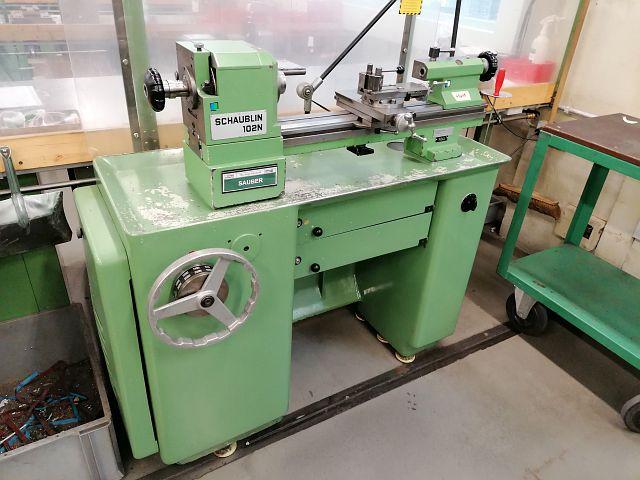 gebrauchte  Leit- und Zugspindeldrehmaschine SCHAUBLIN 102 N