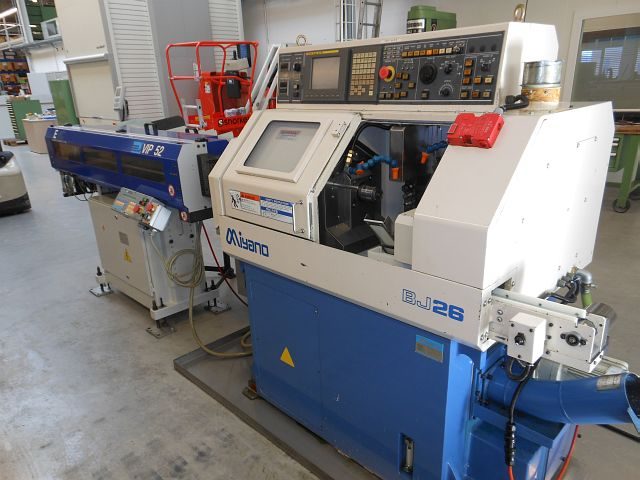 used  CNC Turning- and Milling Center MIYANO BJ 26