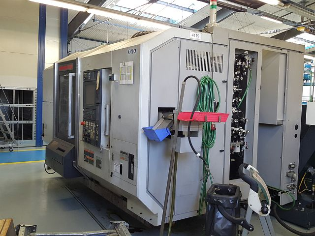 used  CNC Turning- and Milling Center MORI SEIKI NZ2000 T2Y