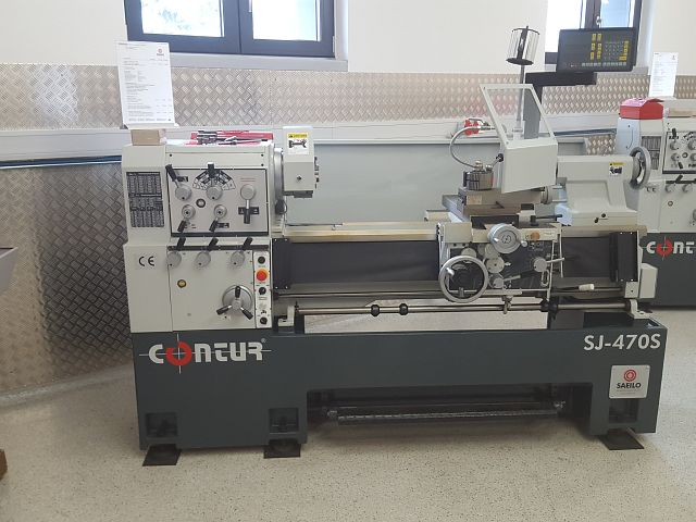 used  Center Lathe CONTUR SJ-470
