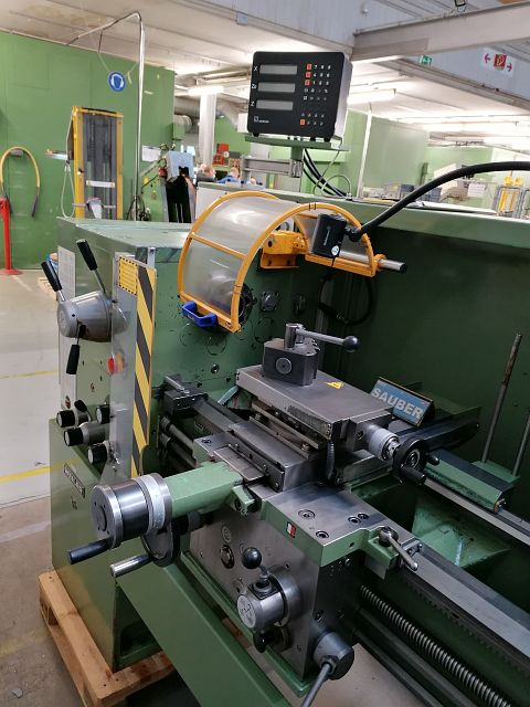used  Center Lathe WEILER COMMODOR 75