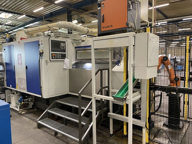 used  Chucking Automatic Lathe - Multi Spindle HK-CON L2²SDZ-8