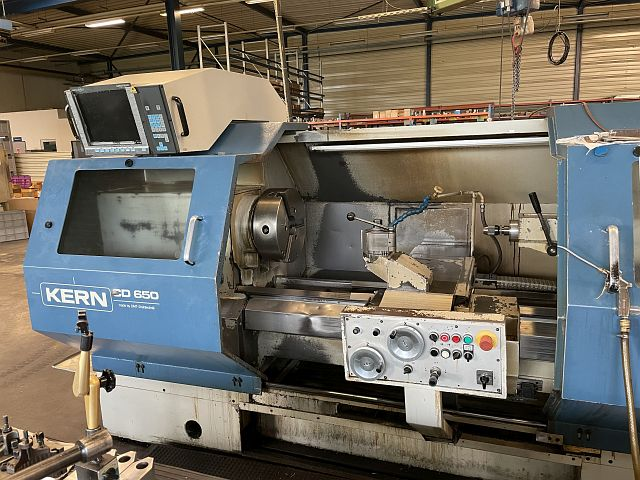 used  Lathe -  cycle-controlled KERN CD 650
