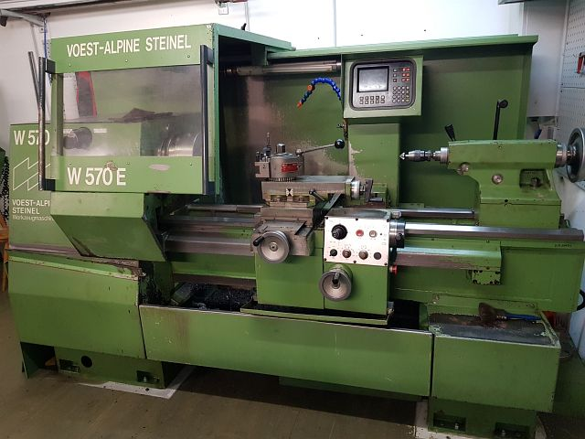 used  Lathe -  cycle-controlled VOEST ALPINE STEINEL W570
