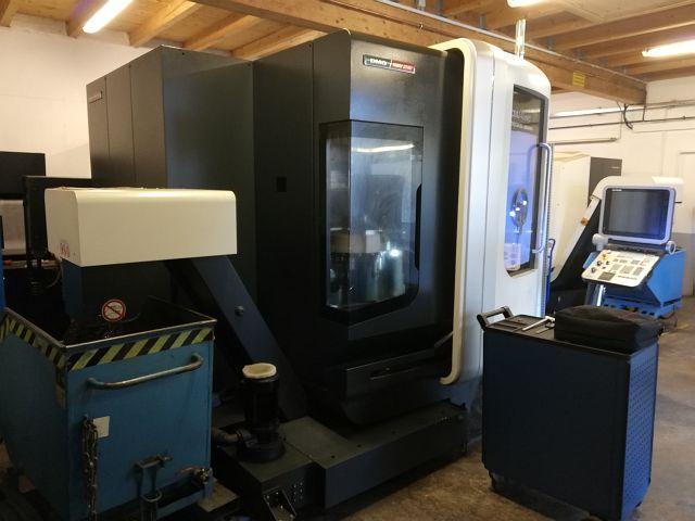 used  Machining Center - Universal DMG DMU 40 EVO