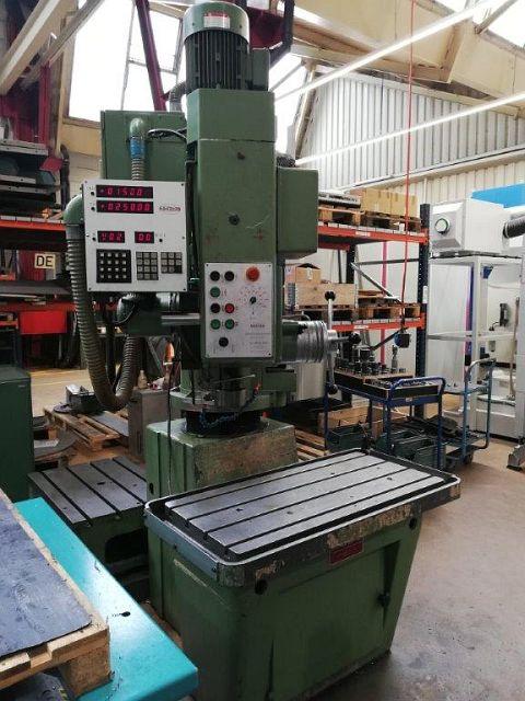 used  Rapid Radial Drilling Machine DONAU DR 40 DIGI
