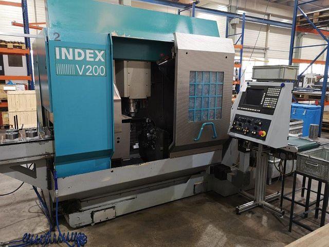 used  Vertical Turning Machine INDEX V 200