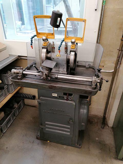 gebrauchte Schleifmaschinen Schleifbock AGATHON 175 A