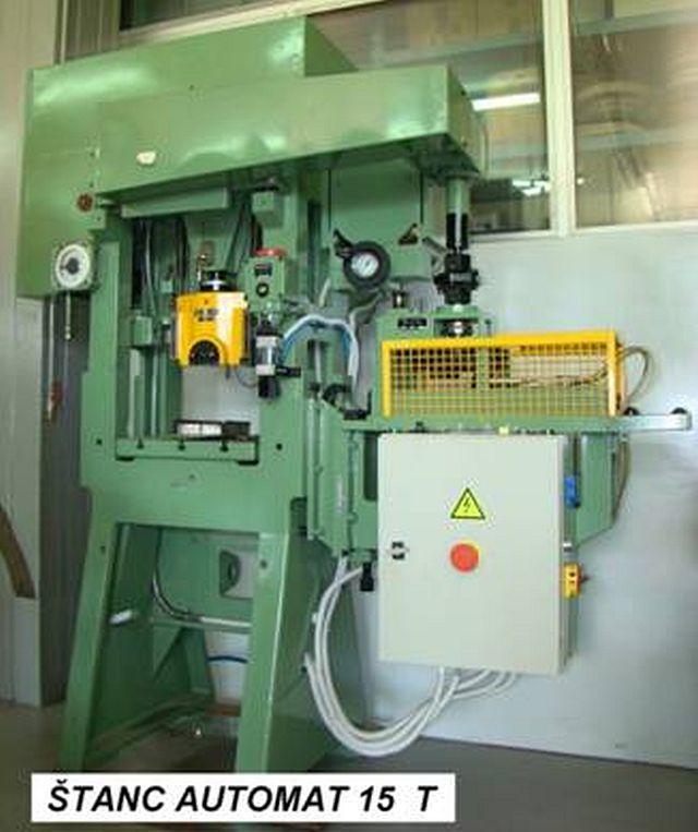 Prensa punzonadora automática usada ESSA A 100.200