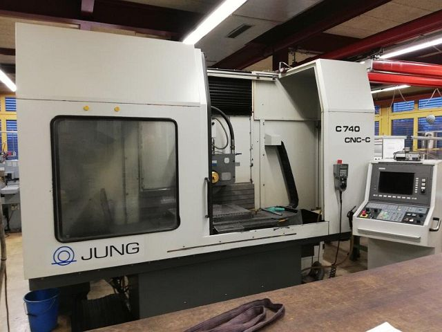 used Grinding machines Surface Grinding Machine - Horizontal JUNG C 740 CNC