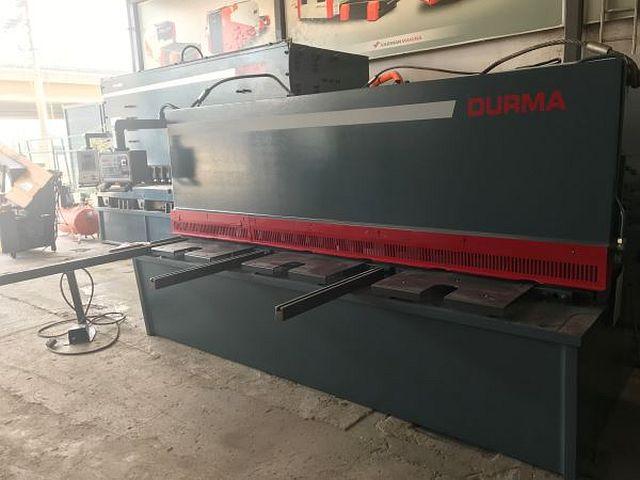 gebrauchte Blechbearbeitung / Scheren / Biegen / Richten Hydraulische - Tafelschere DURMA DHGM 3010
