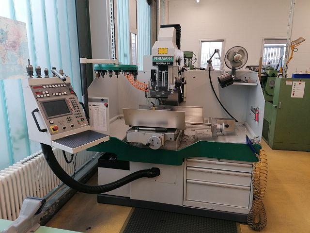 gebrauchte Bohrwerke / Bearbeitungszentren / Bohrmaschinen Tischbohrwerk FEHLMANN PICOMAX 54