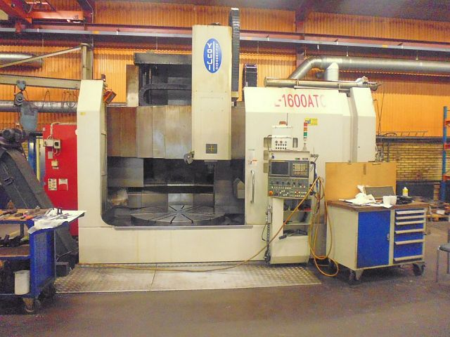 used Lathes Vertical Turret Lathe - Single Column YOU JI VTL-1600 ATC