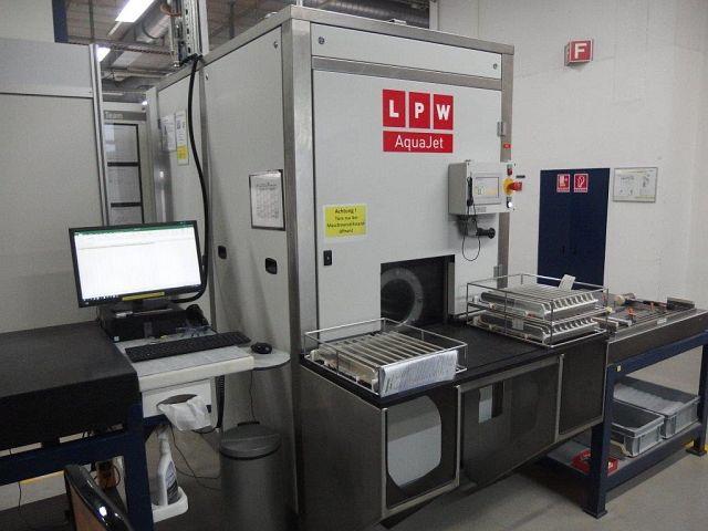 gebrauchte verschiedene Einrichtungen Waschanlage - Kammer LPW AQUA JET 530 BASIC