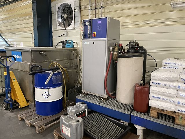 gebrauchte Fensterfertigung: Kunststoff Wasseraufbereitung SG RO 750 S