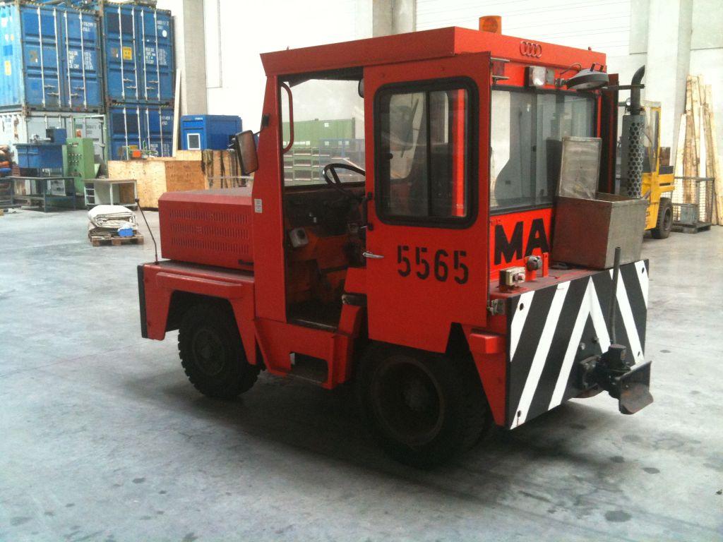 gebrauchte Bau- und Landmaschinen Traktor MAFI MTD 5500
