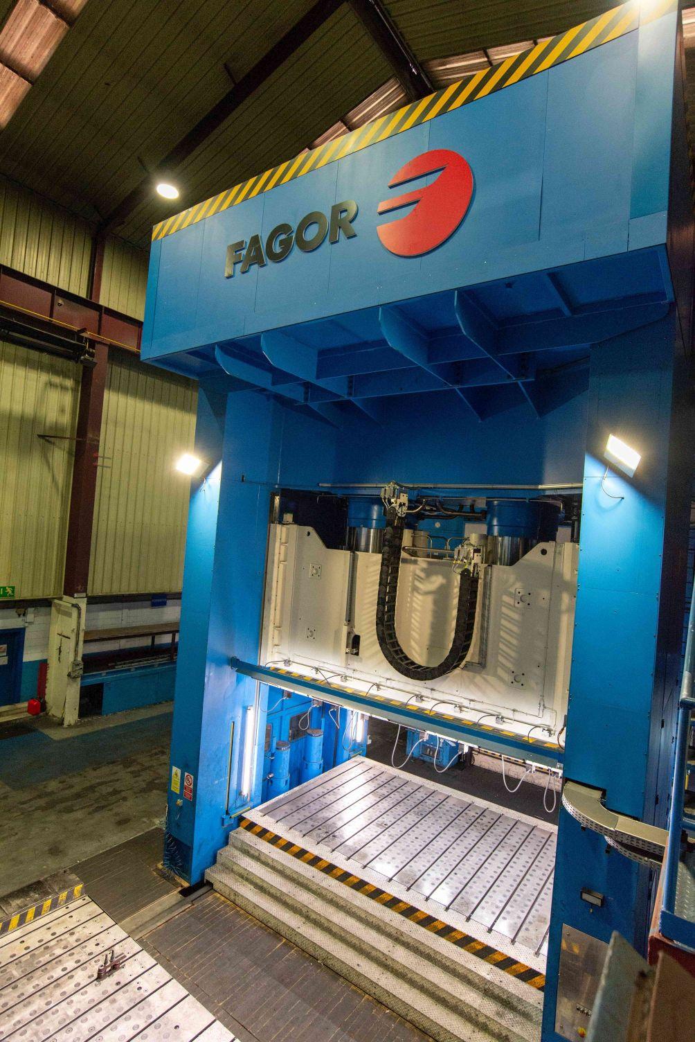 gebrauchte Pressen und Bördelmaschinen Doppelständerpresse - Hydraulisch FAGOR H4-2500-5000-3000
