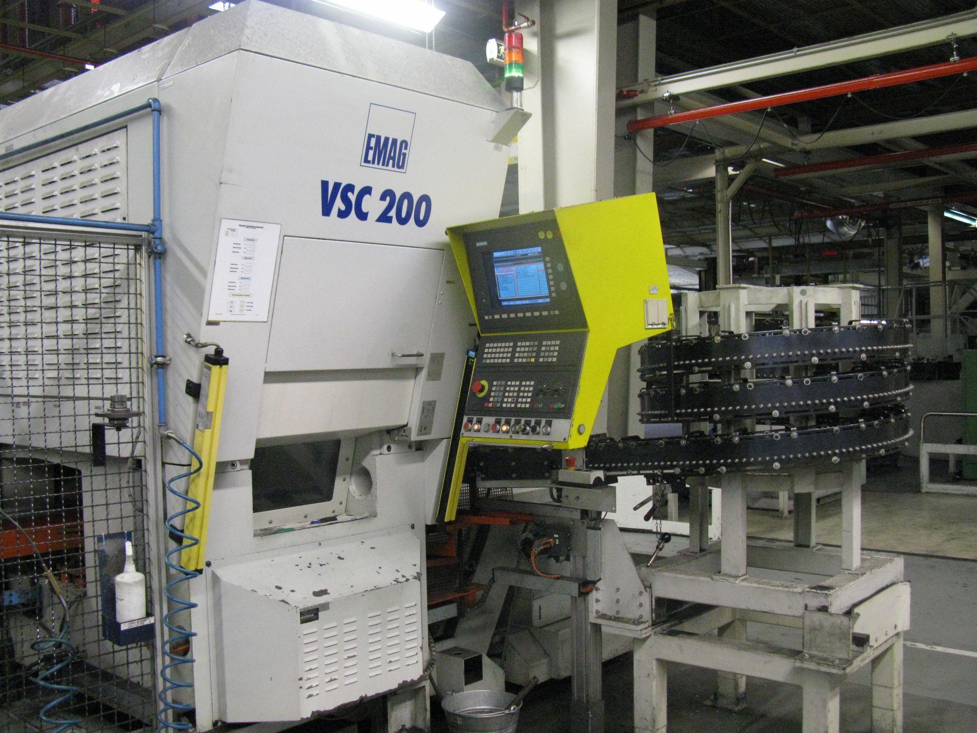 gebrauchte  CNC Drehmaschine EMAG VSC 200