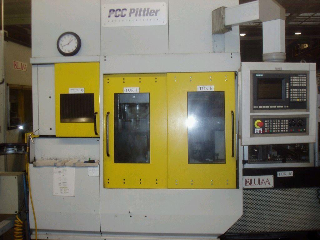 used  CNC Lathe PITTLER PV SL 1/1-1