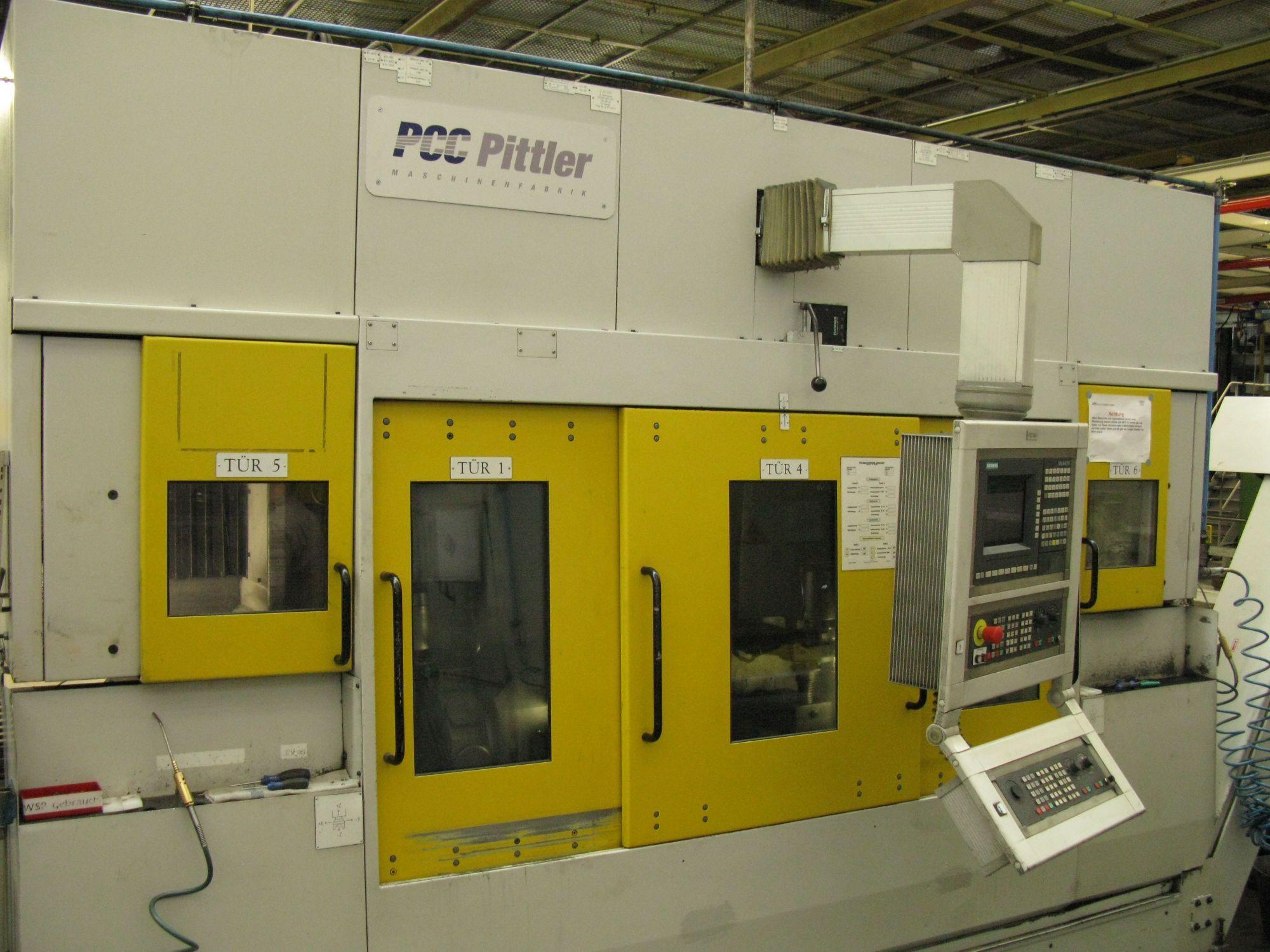 used  CNC Lathe PITTLER PV SL 1/2-2