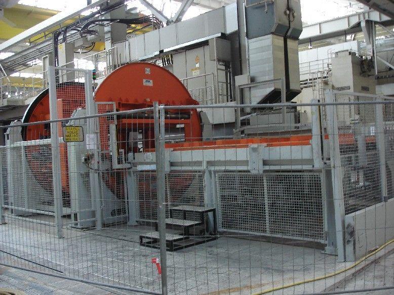 used  coil line SCHARF WESTFALIA