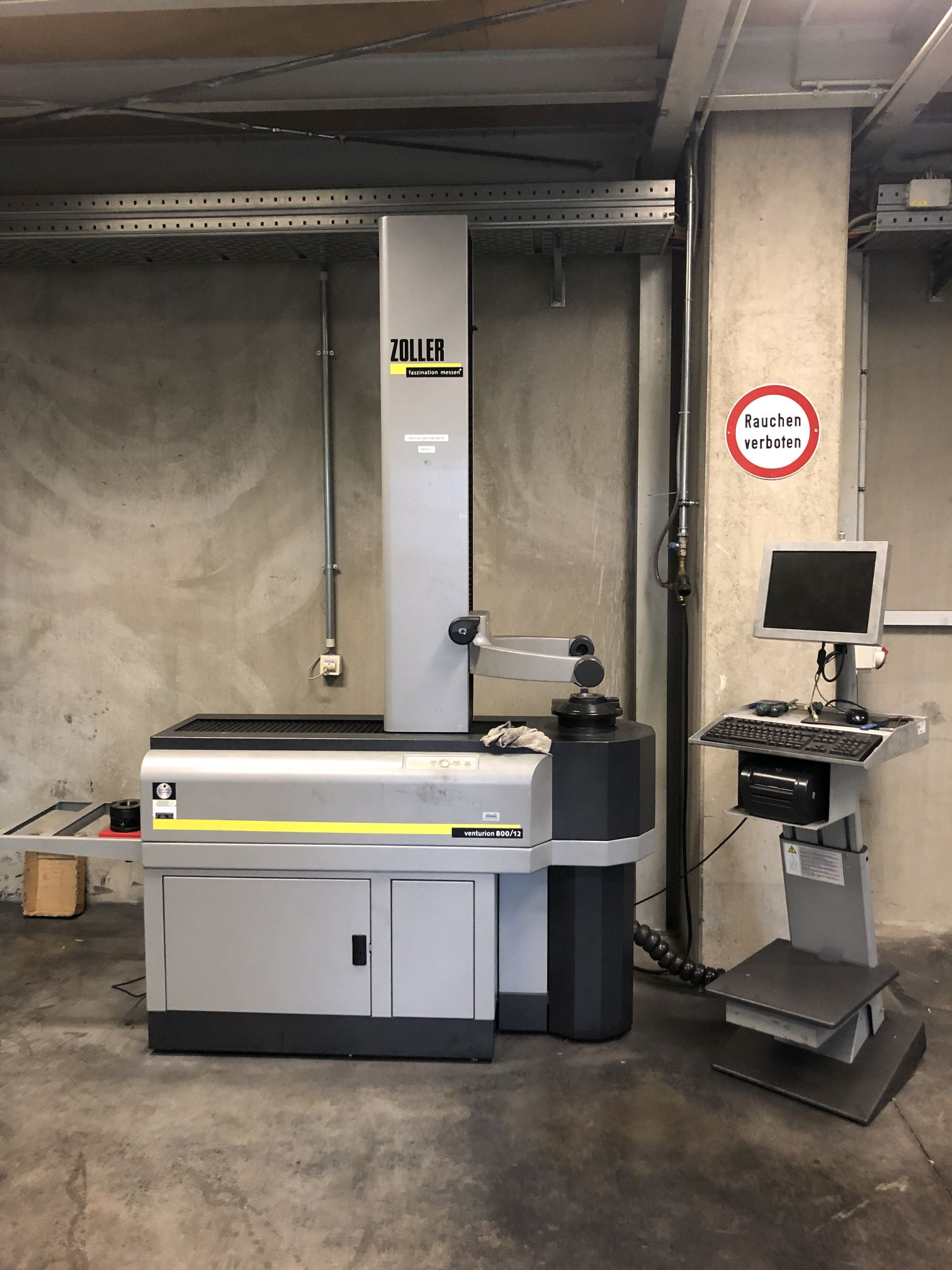 used Other Accessories for Machine Tools Adjusting Instrument ZOLLER Venturion 800/12