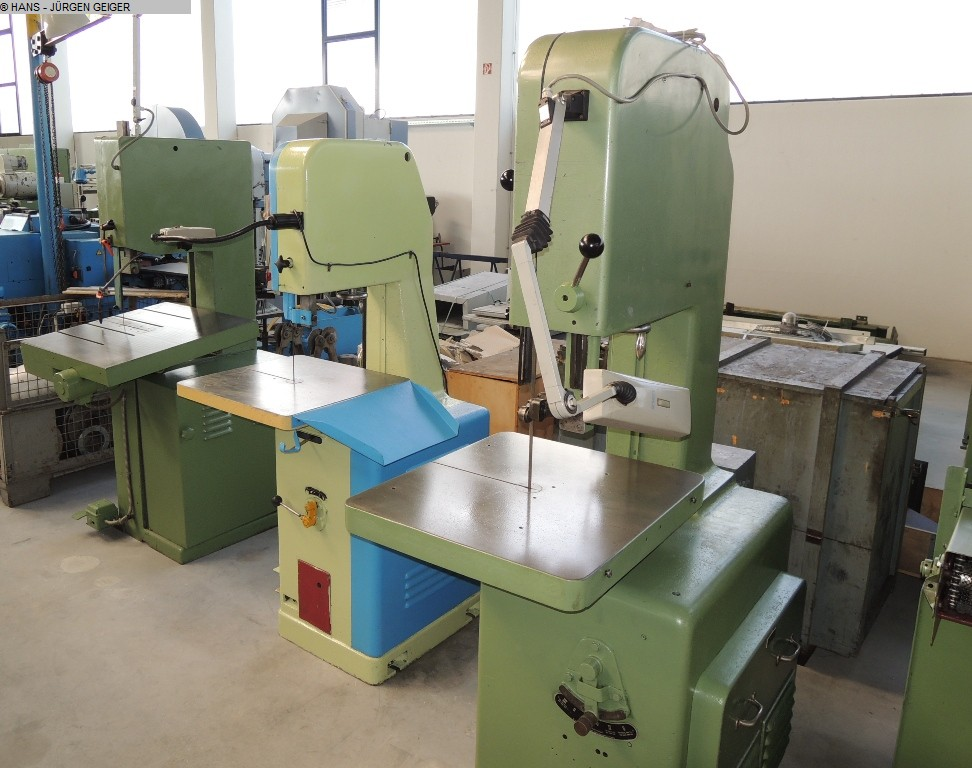 used Band Saw - Vertical MÖSSNER SSF/500*