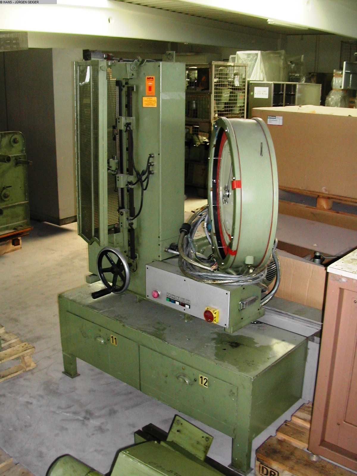 gebrauchte Maschine Federprüfmaschine PROBAT SF21TM