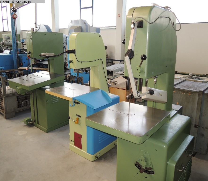 used Band Saw - Vertical MÖSSNER SSF 420
