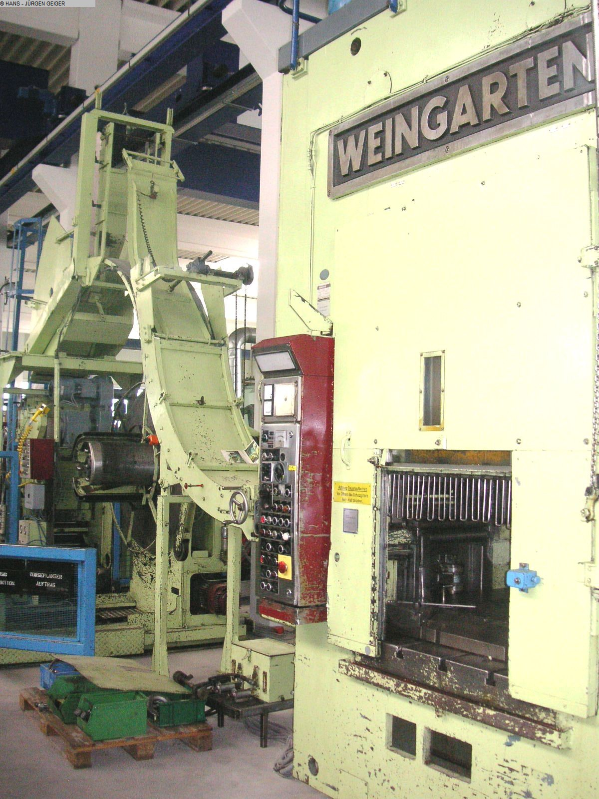 used Automatic Punching Press - Double Column WEINGARTEN HD 160