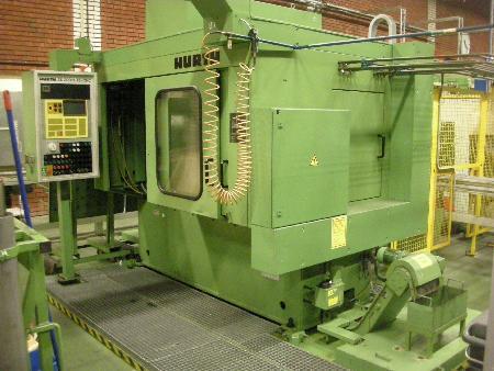 máquina usada para achaflanar y desbarbar máquina CNC HURTH ZK 200 / 1-TE