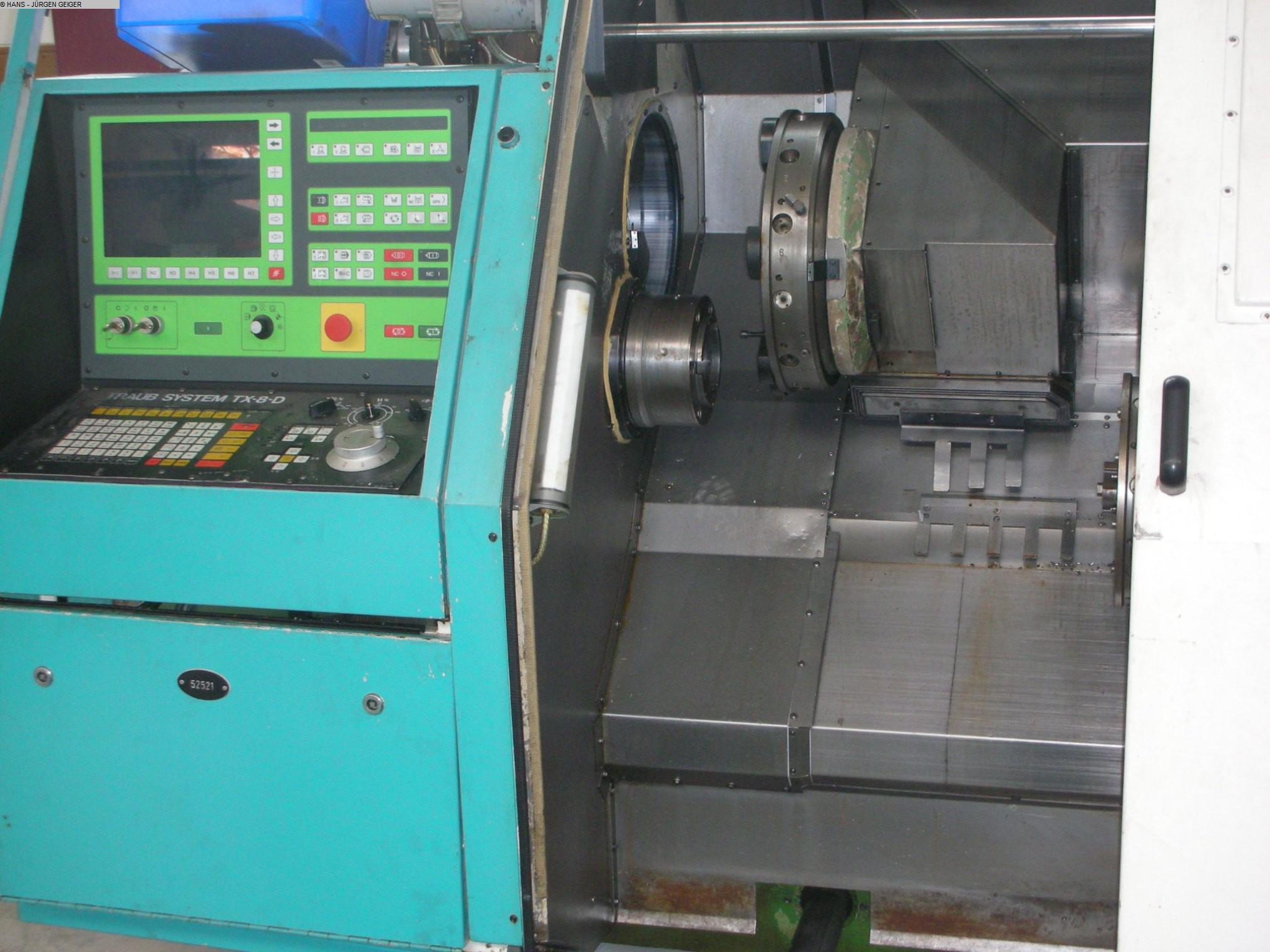 gebrauchte Maschine CNC Drehmaschine TRAUB TNS 65/ 80 D