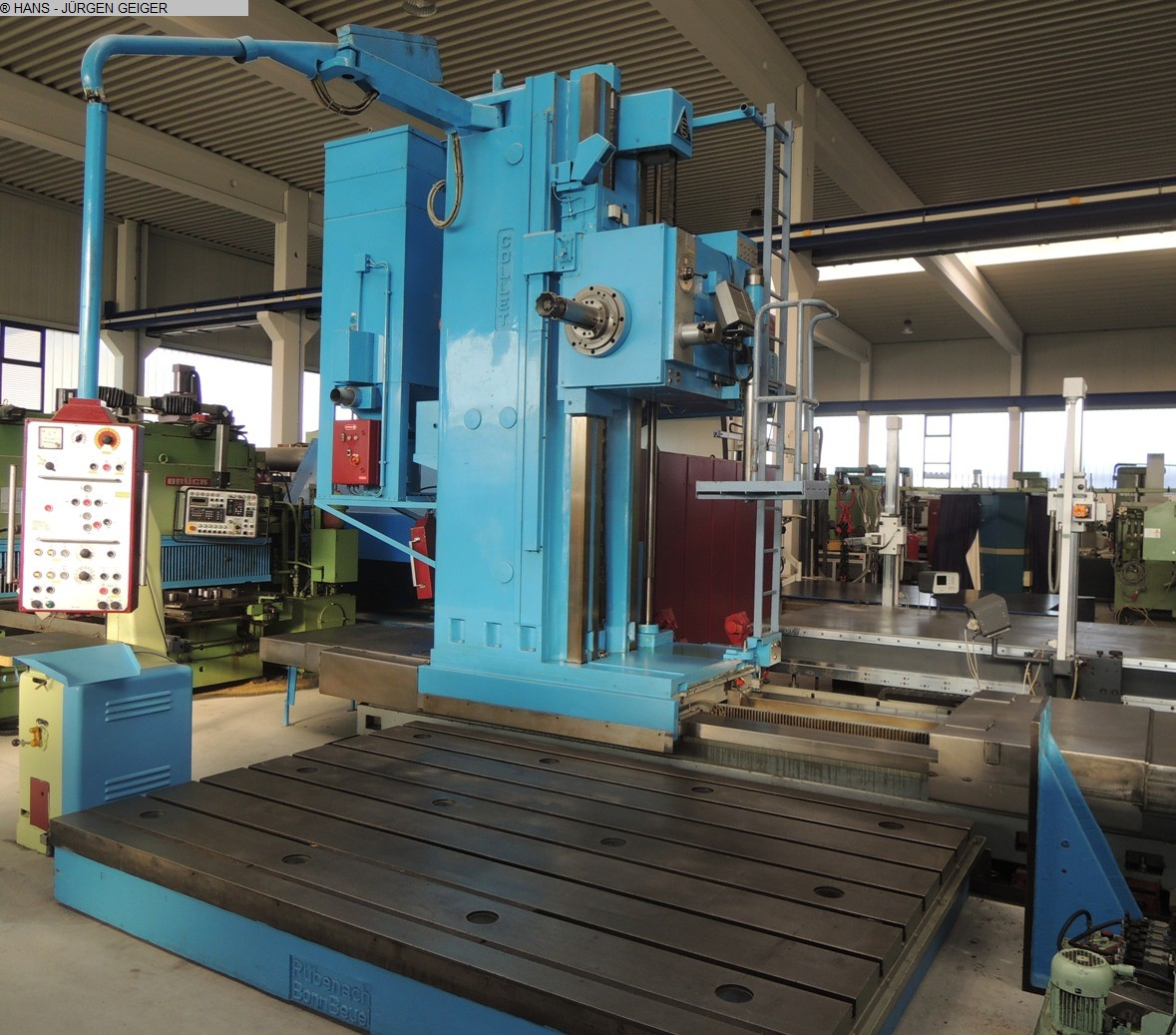 used Floor Type Boring and Milling M/C - Hor. COLLET & ENGELHARDT BF 130 - 11